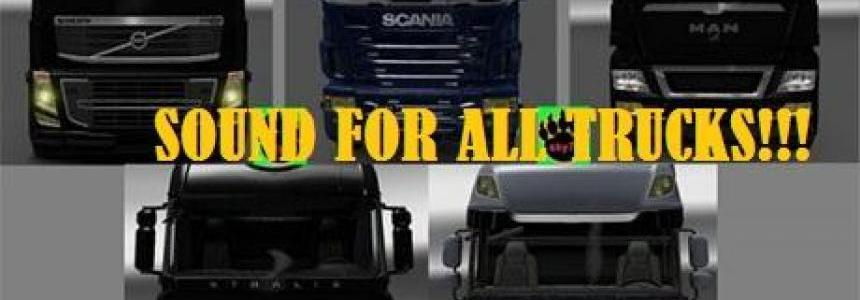Sound pack for all trucks v2