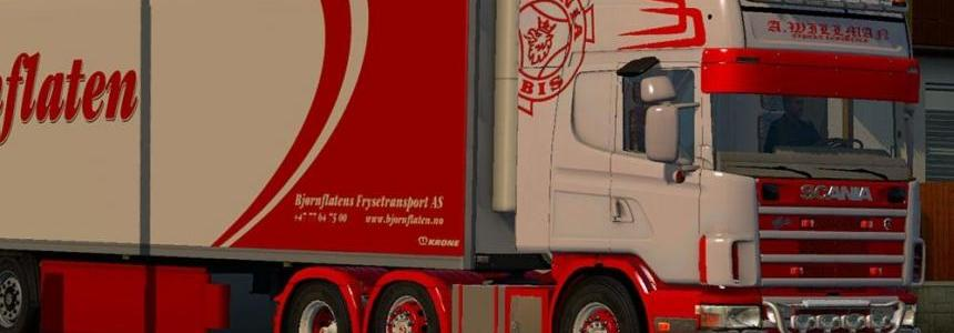 Stainless Bumper addon for Punisher Scania 4 series