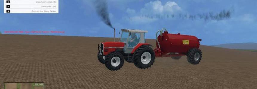 Star 1100 gallon slurry Tank v3.0