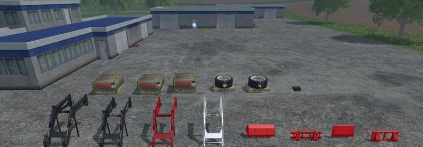 Steyr 8070 8080 Equipment Pack v1.0