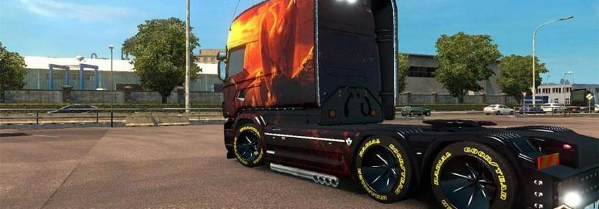 The Phoenix skin for RJL Scania Longline