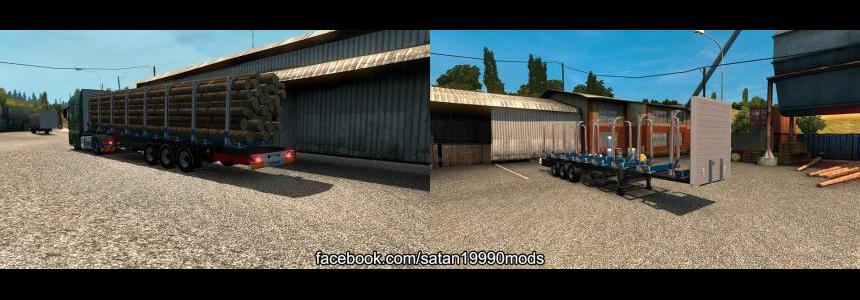 TMP - Krone logs trailer v1.1