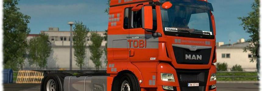TOBI Transport skin pack for all MADster MAN 1.22