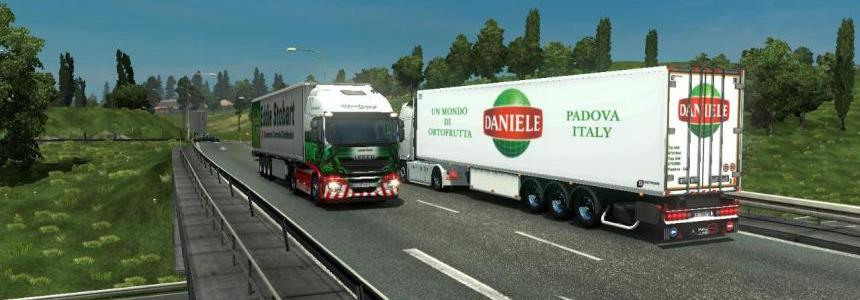 Trailer coolliner by newS Daniele import export