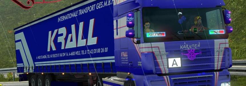 Trailer- Krall internationale transport