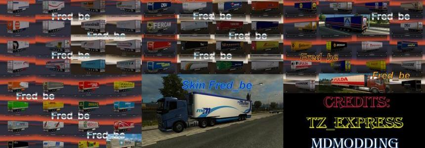 Trailer Pack by Fred_be V6 (+/- 300 skins)