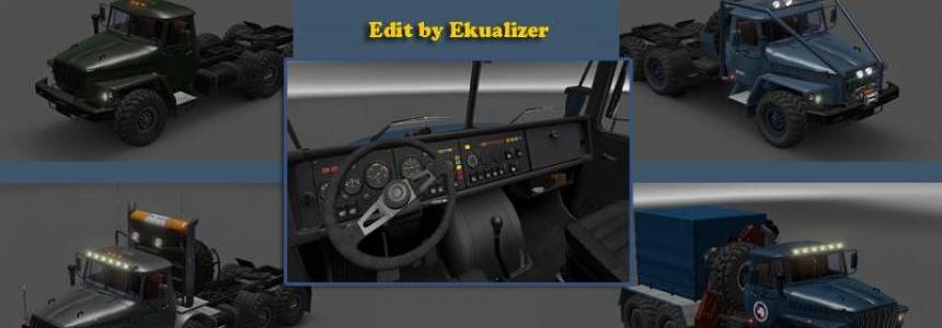 Ural 43202 convert and edit v3.3