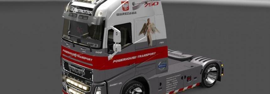 Volvo FH 2012 Powerhouse Skin v2.0