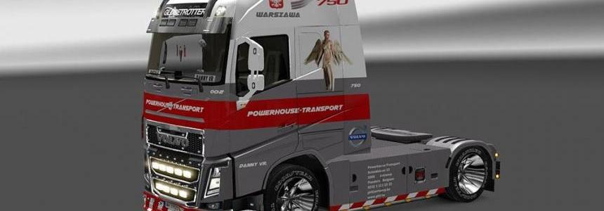 Volvo FH 2012 Powerhouse Skin