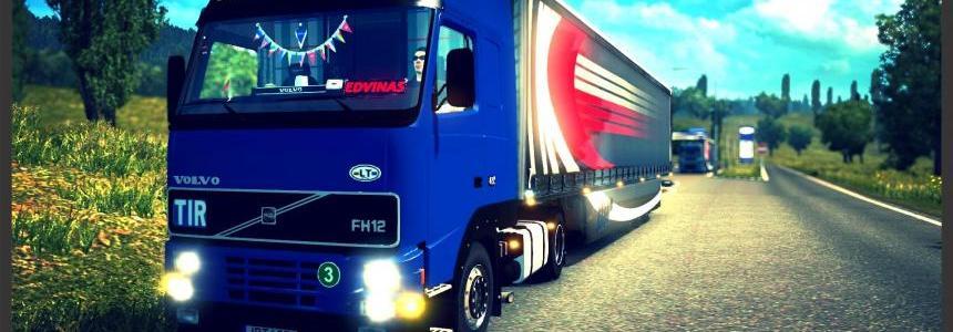 Volvo FH12 420 1's & Krone 1.22