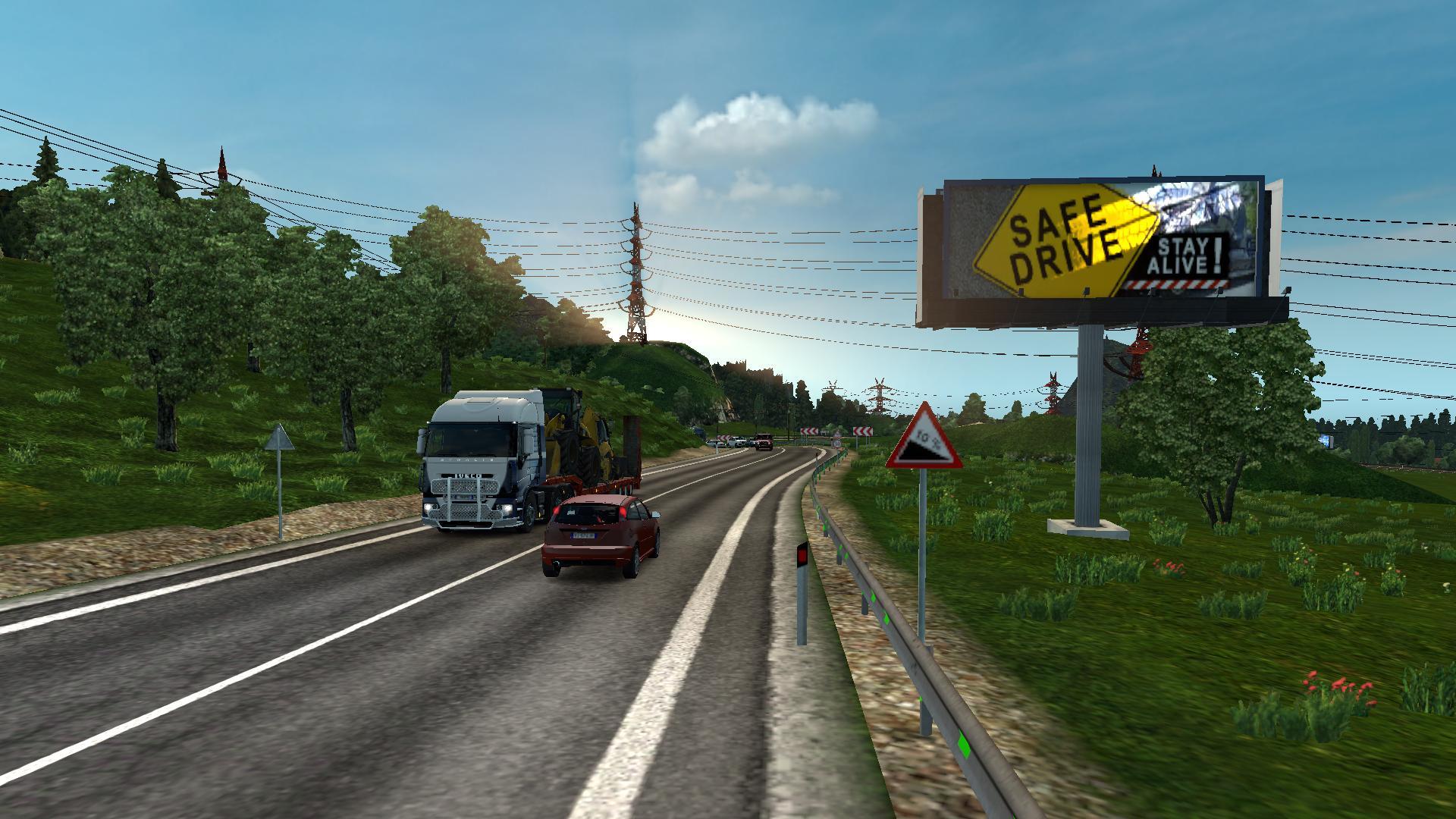 MHAPro Map EU For Version X Modhubus - 4 lane highway map of us