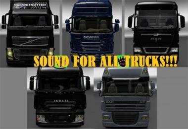 Sound Pack for All Trucks v2.1