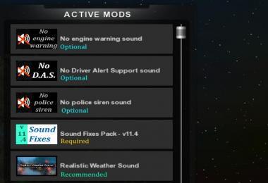 Sound Fixes Pack + Hot Pursuit Sounds v11.4