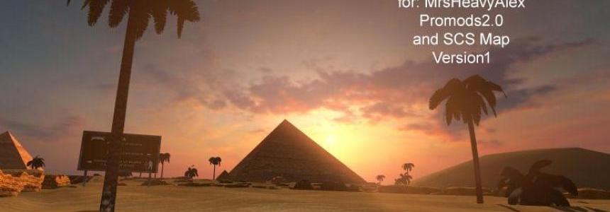 Egypt Addon for SCS Map Promods v2.0 and HeavyAlex