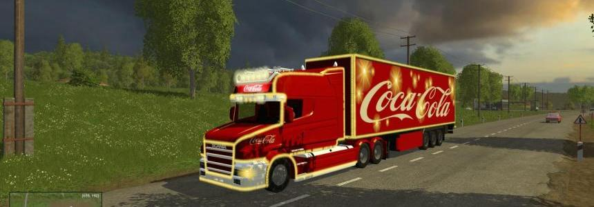 Coca Cola Truck + Trailer Pack v1.0