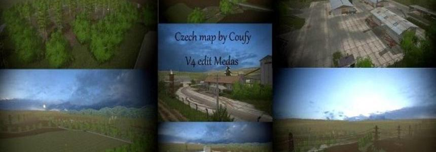 Czech Map by Coufy v4 - edit Medas