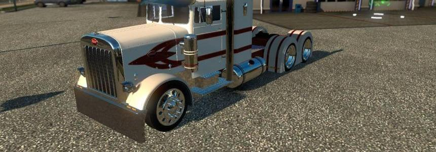 Peterbilt 351/379 Red Stripes Skin 1.22