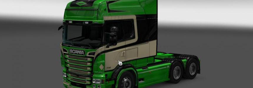 Scania RS RJL S.T.M. Skin 1.22