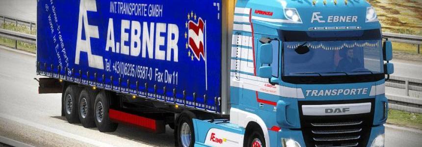 A.EBNER Transporte DAF XF Euro 6 truck