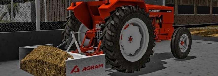 Agram manure blade v1.0