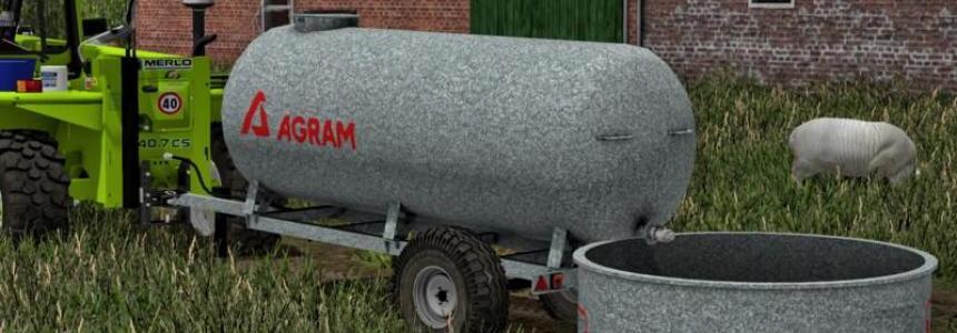 Agram water trailer v1.0