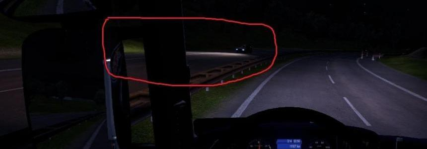 Ai cars headlamp power full