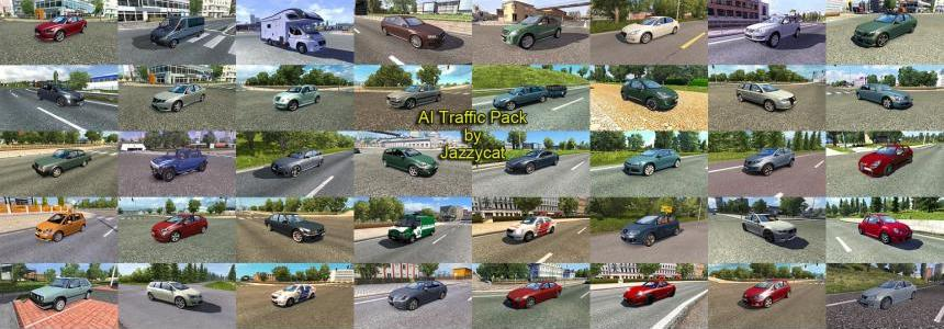 AI Traffic Pack by Jazzycat  v3.4