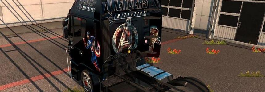 Avengers 2015 Iveco Hi-Way Skin