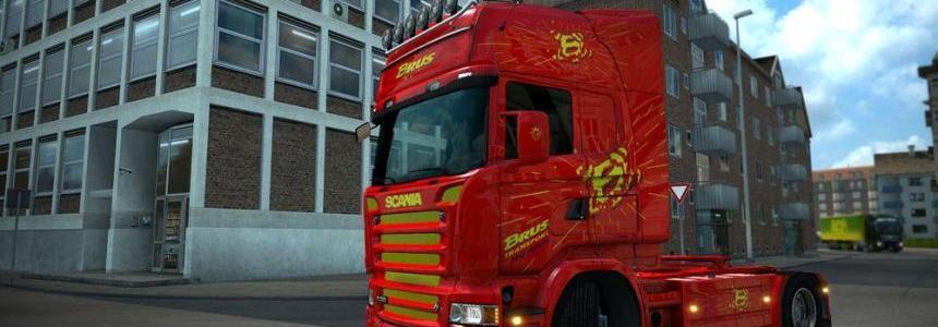 Brus Transport Slovenia Scania RJL skin