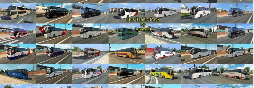 Bus Traffic Pack by Jazzycat v1.3