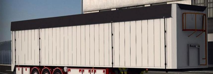 Chereau Bodex Trailer Red