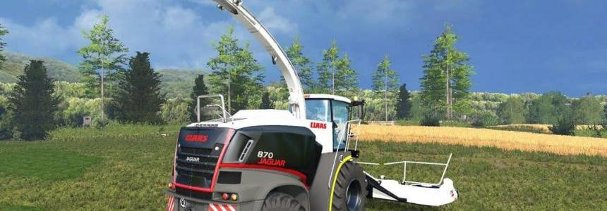 Claas Jaguar 870 Black Edition v1.0