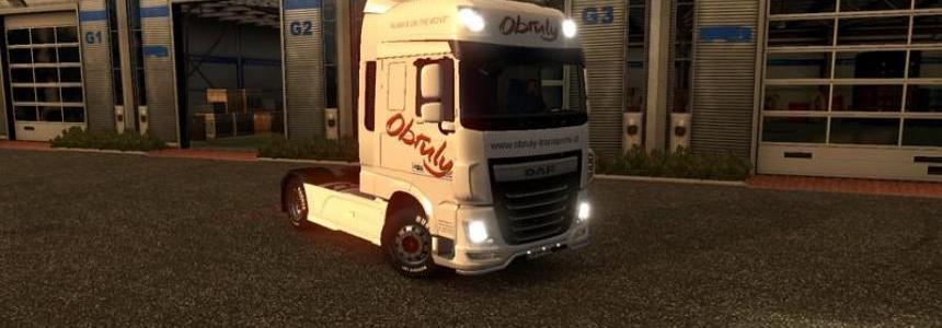 DAF XF Euro 6 Obruly v1.0
