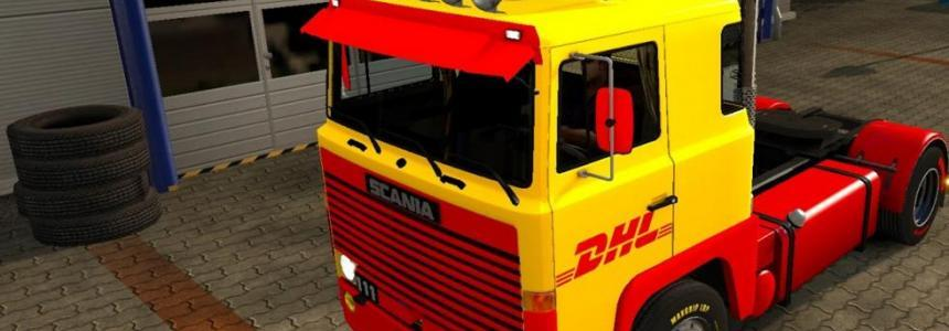 DHL skin for Scania v1