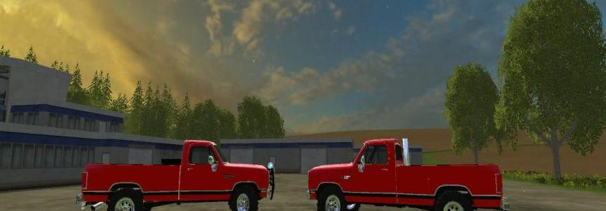 Dodge D250 pack fixed v2