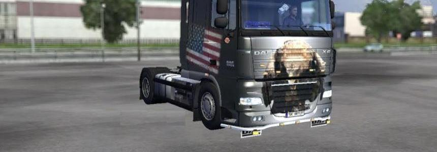 Eagle & Flag Daf XF 105 50K 1.22.x