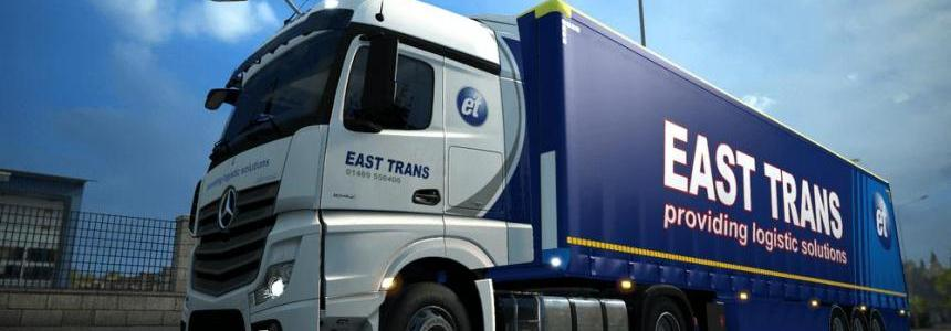 East Trans Mercedes Benz Actros MPIV Combo Pack