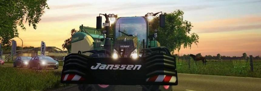 Eigenbau Janssen 1600kg weight v1.0