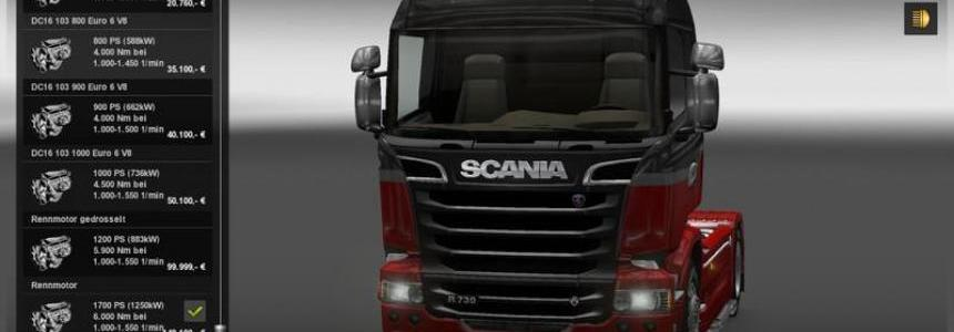 Engine & Gearbox For All Trucks 1.22