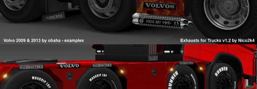 Exhausts for Trucks v1.2 by Nico2k4
