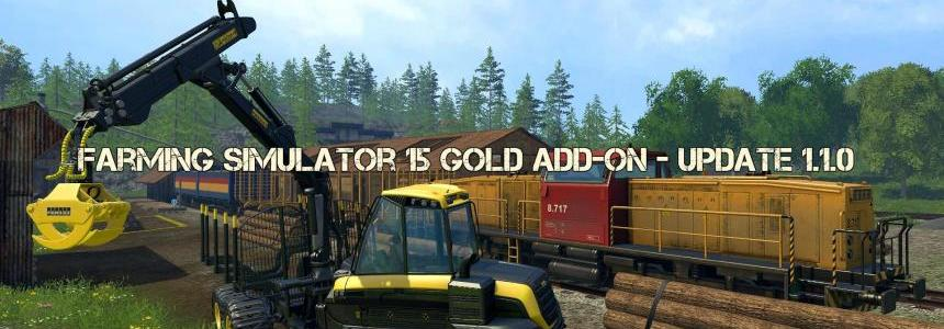 Farming Simulator 15 Gold Add-on - Update 1.1.0
