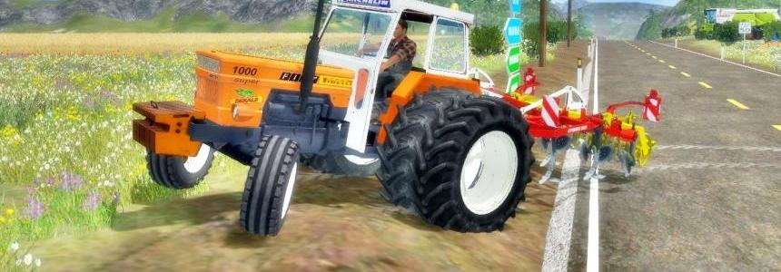 FIAT 1000 super big wheels v1.2