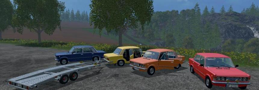 Fiat 125p and Gun carriageith v1.0
