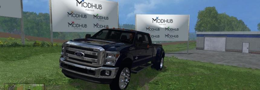 Ford Dually Metalic Blue v2.0