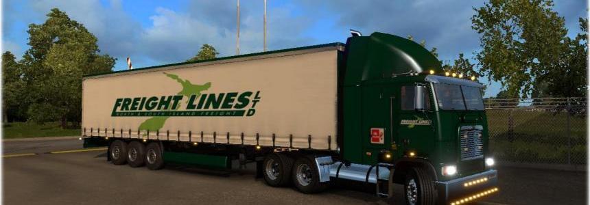 Freightlines Freightliner FLB Skin Combo