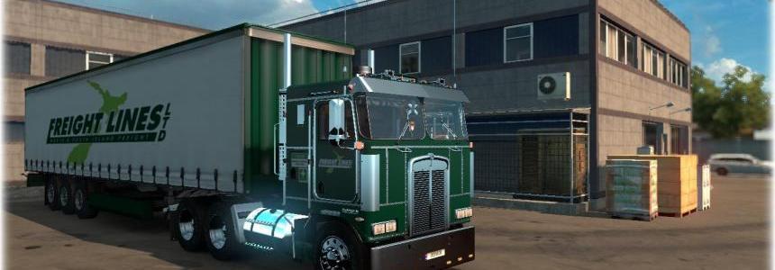 Freightlines Kenworth K100 Combo