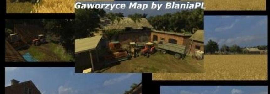 Gaworzyce Map by BlaniaPL