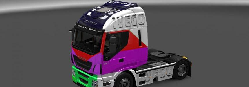 Iveco Hi-Way Mix Skin 1.22