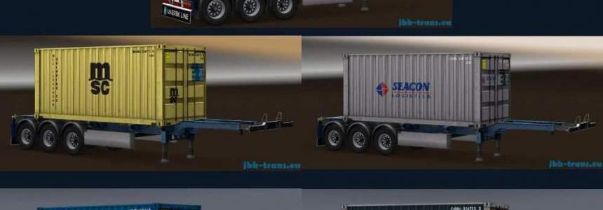 JBK 5 Containertrailer (MDM) v1