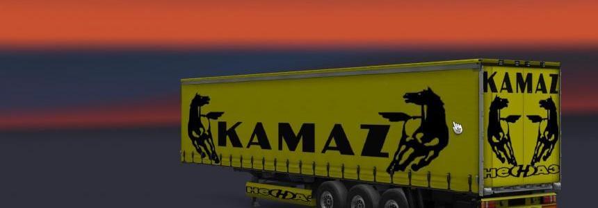 Kamaz Trailer Skins 1.22
